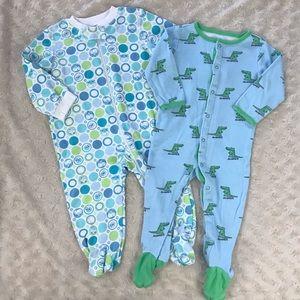 Baby Boy Footed Sleeper Bundle 6-9 Months